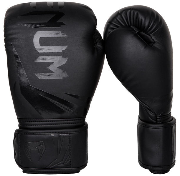 Боксови ръкавици - Venum Challenger 3.0 Boxing Gloves - Black/Black​
