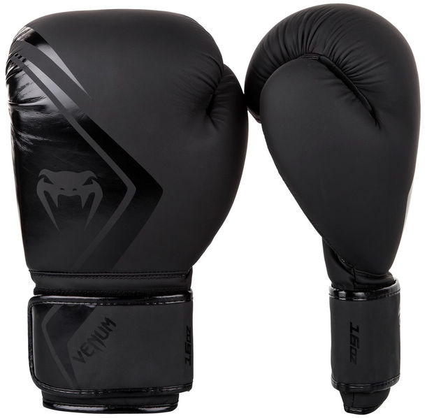 Боксови Ръкавици - Venum Boxing Gloves Contender 2.0 - Black/Black​