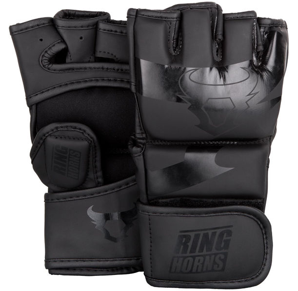 ММА Ръкавици - Ringhorns Charger MMA Gloves - Black/Black