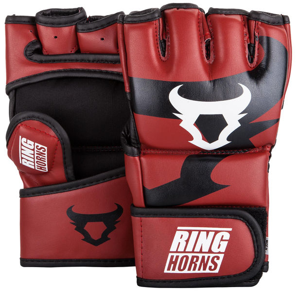 ММА Ръкавици - Ringhorns Charger MMA Gloves - Red​