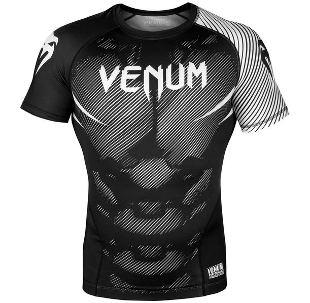 Рашгард - Venum NoGi 2.0 Rashguard - Short Sleeves - Black/White​