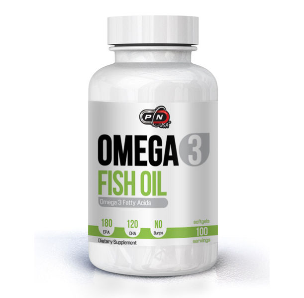 Pure Nutrition - Omega 3 Fish Oil 180 EPA/120 DHA - 200 softgels.