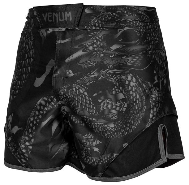 Шорти - Venum Dragon's Flight Fightshorts - Black/Black​