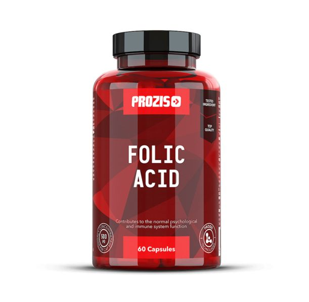 Prozis Folic Acid 500mcg / 60caps.