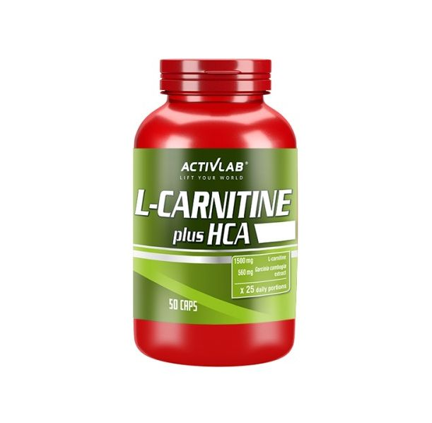 Activlab -  L-Carnitine plus HCA / 50caps.