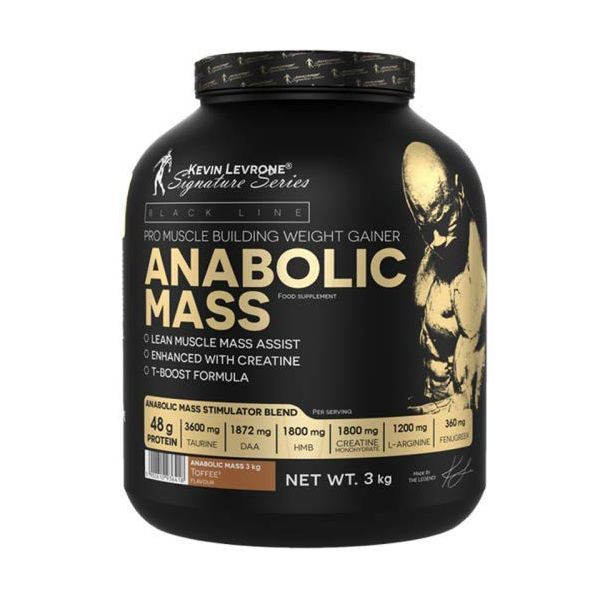 Kevin Levrone Black Line / Anabolic Mass - 3000гр.​
