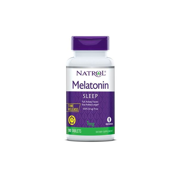Natrol Melatonin Time Release 1mg / 90tabs.