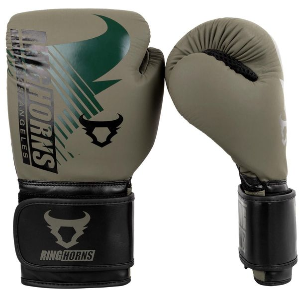 Боксови Ръкавици - Ringhorns Charger MX Boxing Gloves - Khaki/Black​