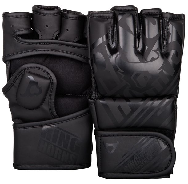 ММА Ръкавици - Ringhorns Nitro MMA Gloves - Black/Black