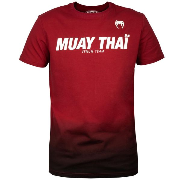 Тениска - Venum Muay Thai VT T-shirt - Red​