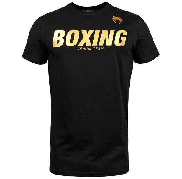 Тениска - Venum Boxing VT T-shirt - Black/Gold