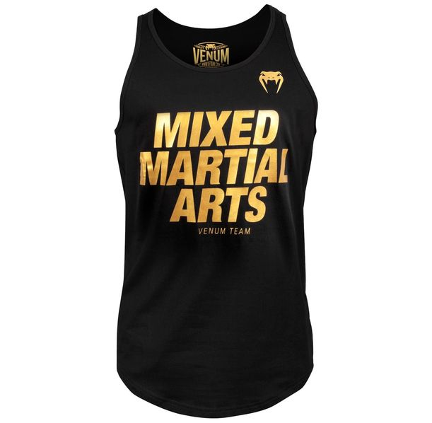 Потник - Venum MMA VT Tank Top - Black/Gold
