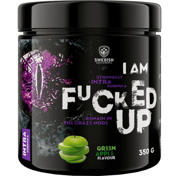 SWEDISH Supplements - I am F#CKED UP INTRA Formula
