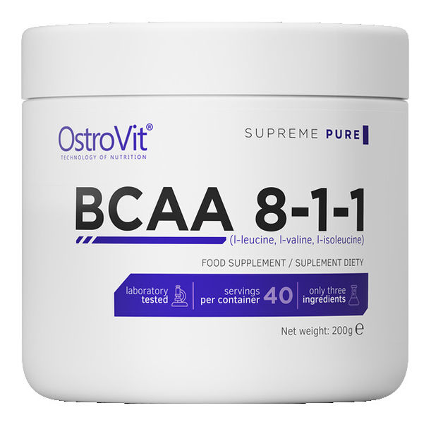 OstroVit - BCAA 8:1:1 Powder / 200 g