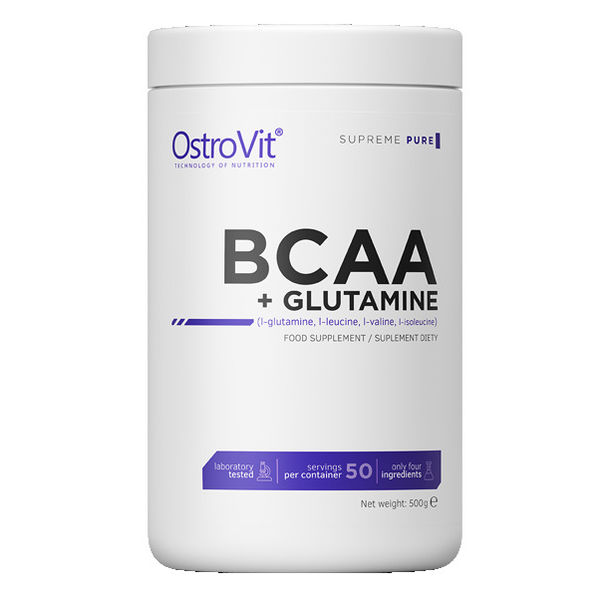 OstroVit - BCAA + GLUTAMINE Powder / 500 g