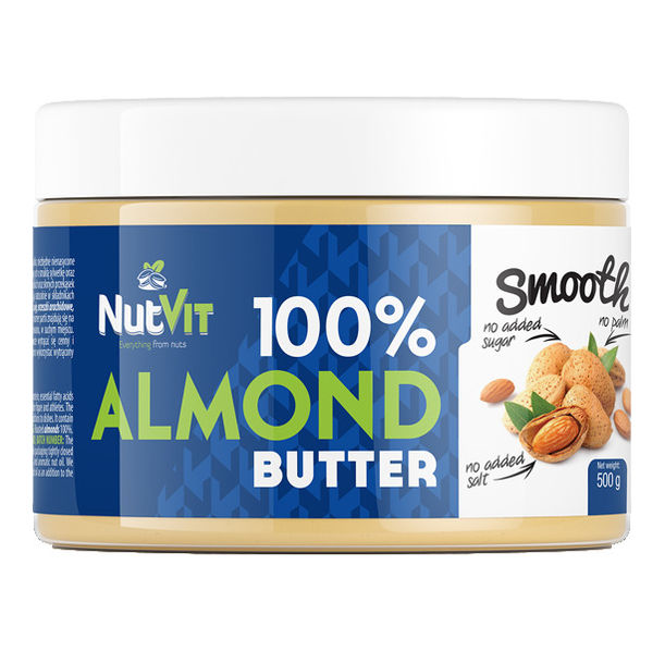 OstroVit - 100% Almond Butter Smooth / 500 gr