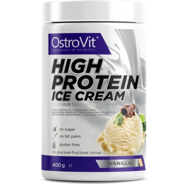 OstroVit - High Protein Ice Cream / 400g.