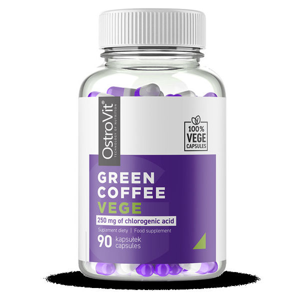OstroVit - Green Coffee 500 mg / Vege - 90caps