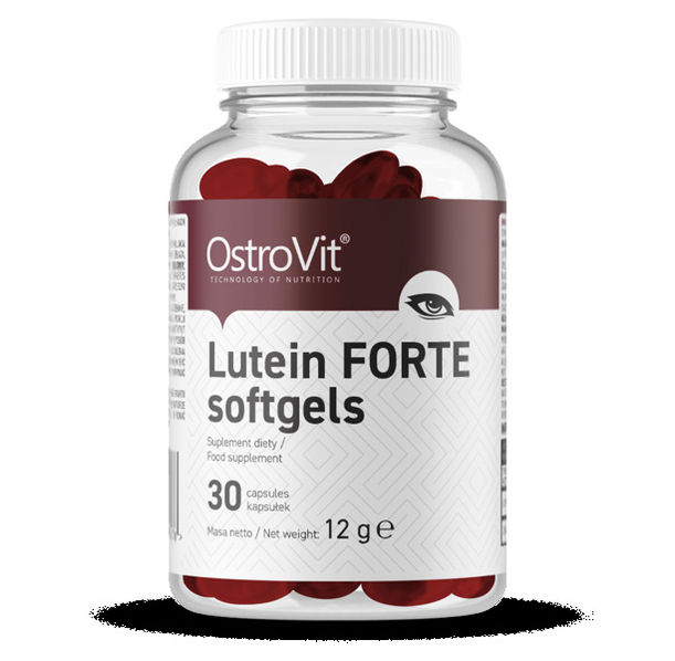 OstroVit - Lutein Forte / with Zeaxanthin / 30softgels.​