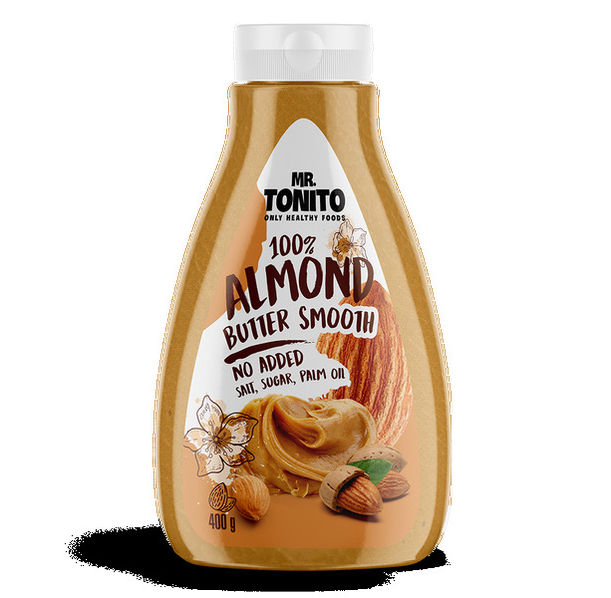 OstroVit - Mr. Tonito / Almond Butter Smooth / 400gr.