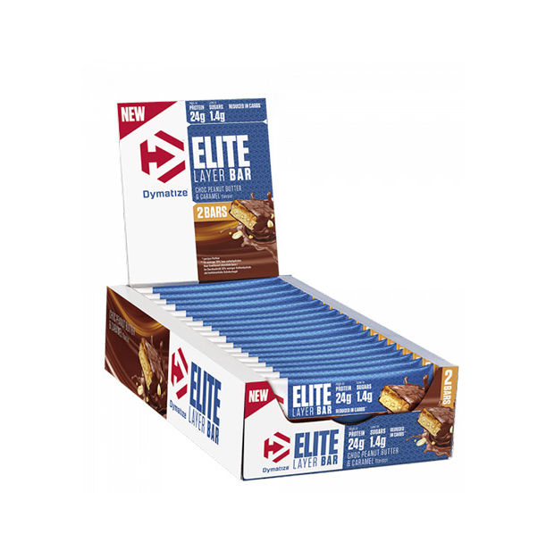 DYMATIZE Elite Layer Bar 2x30 g / 18 Bar Box