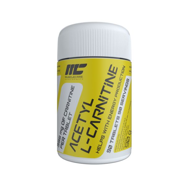 Muscle Care - Acetyl L-Carnitine 500mg / 90tabs