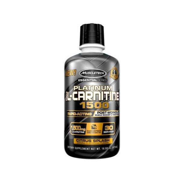 MUSCLETECH Platinum 100% L-Carnitine 1500 / 473ml.