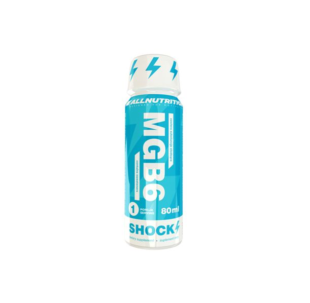 Allnutrition MgB6 Shock 12 x 80ml