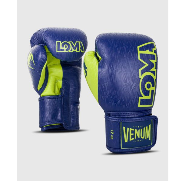 Боксови Ръкавици - Venum Origins Boxing Gloves Loma Edition - Blue/Yellow​