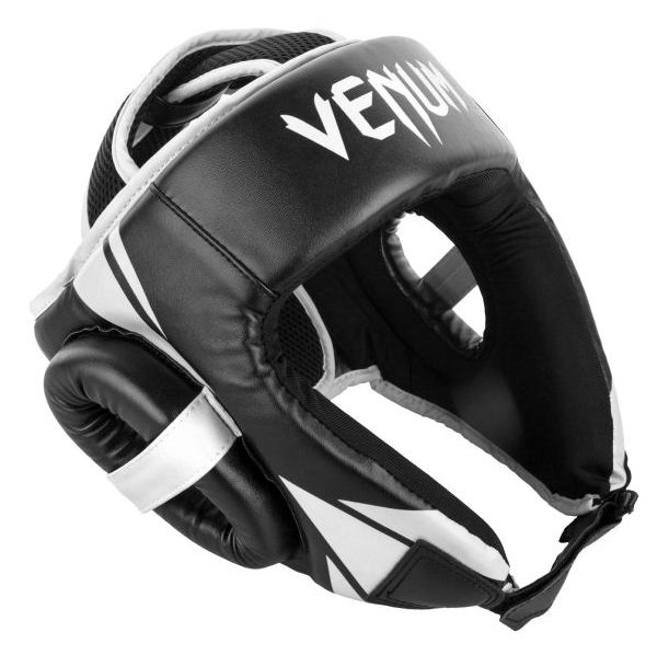 ПРОТЕКТОР ЗА ГЛАВА / КАСКА - Venum Challenger Open Face Headgear - Black​