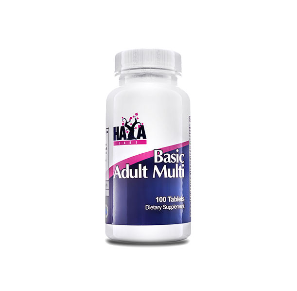 Haya Labs - Basic Adult Multivitamin / 100 tabs.