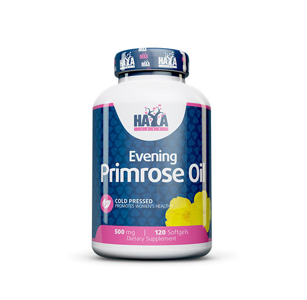 Haya Labs - Evening Primrose Oil (Cold Pressed) 500mg / 120 softgel caps
