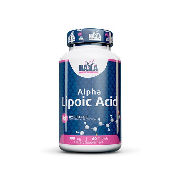 HAYA LABS Time Release Alpha Lipoic Acid 300mg. / 60 tabs.