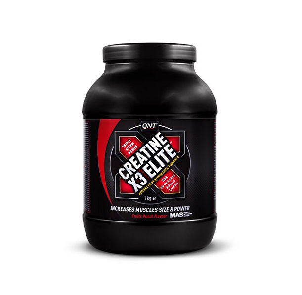 QNT - Creatine X3 Elite / 1000 gr.