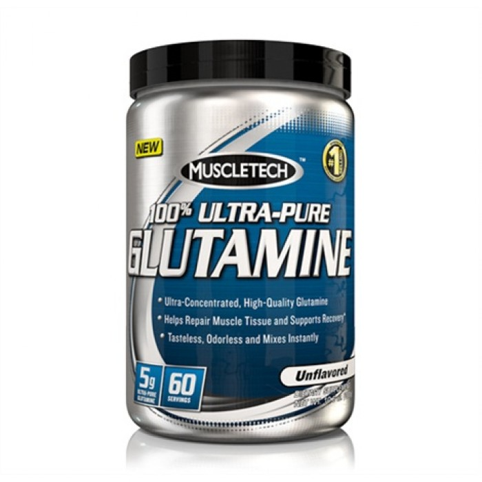 MuscleTech - 100% Ultra Premium Glutamine / 300 gr.
