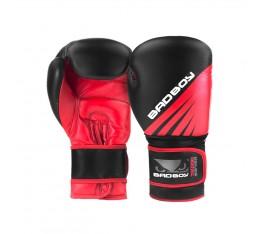 Боксови Ръкавици - Bad Boy Training Series Impact Boxing Gloves - Black/Red  Боксови ръкавици