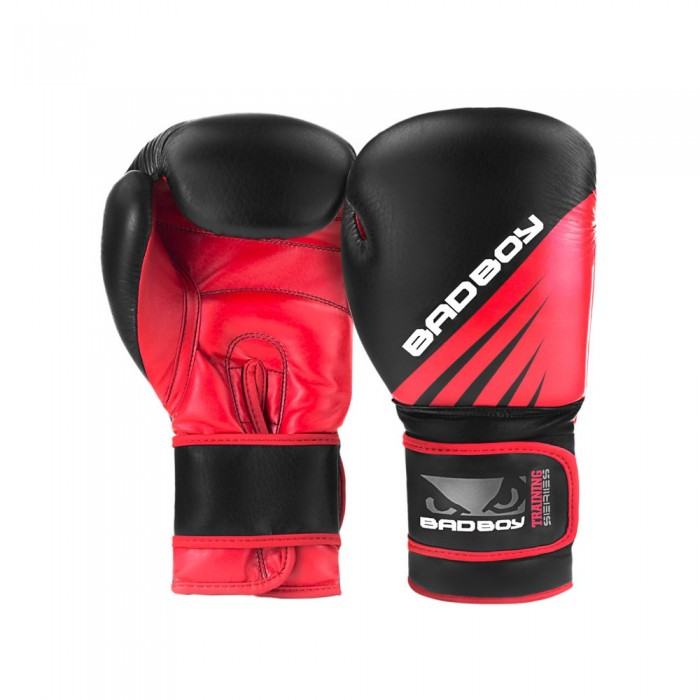 Боксови Ръкавици - Bad Boy Training Series Impact Boxing Gloves - Black/Red
