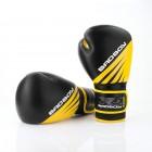 Боксови Ръкавици - Bad Boy Training Series Impact Boxing Gloves - Black/Yellow 