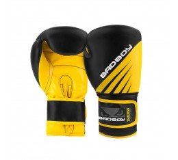 Боксови Ръкавици - Bad Boy Training Series Impact Boxing Gloves - Black/Yellow ​