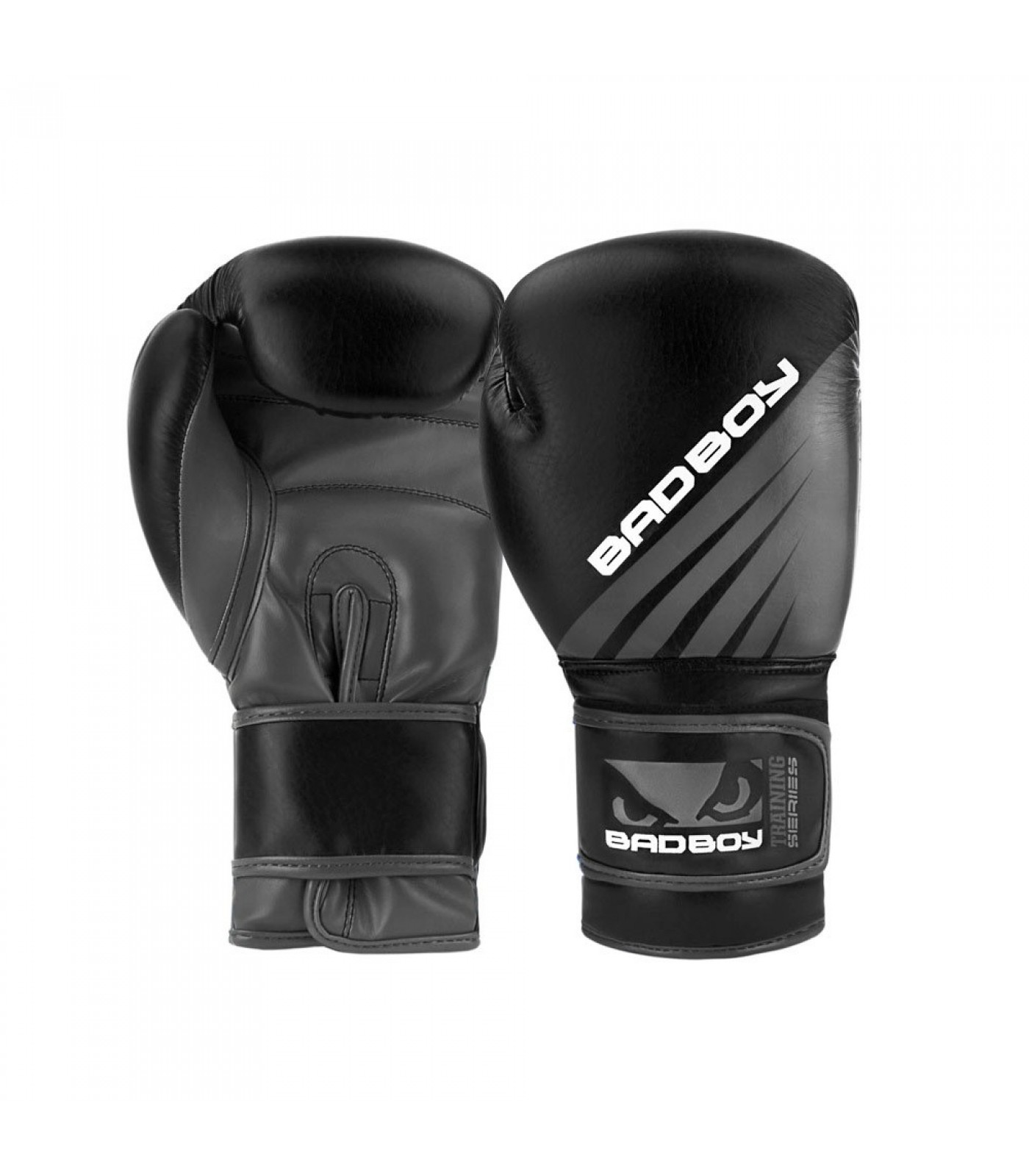Боксови Ръкавици - Bad Boy Training Series Impact Boxing Gloves - Black/Grey 