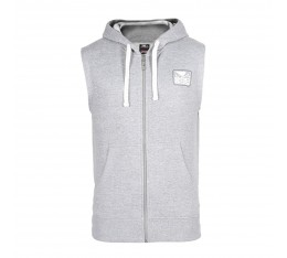 Суичър - BAD BOY CORE SLEEVELESS HOODIE / GREY​