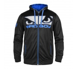 Суичър - BAD BOY Dynamic Hoodie Black/Blue​