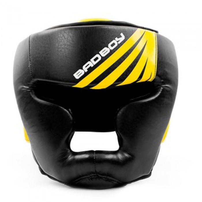 Bad Boy Training Series Impact Head Guard - Black / Yellow