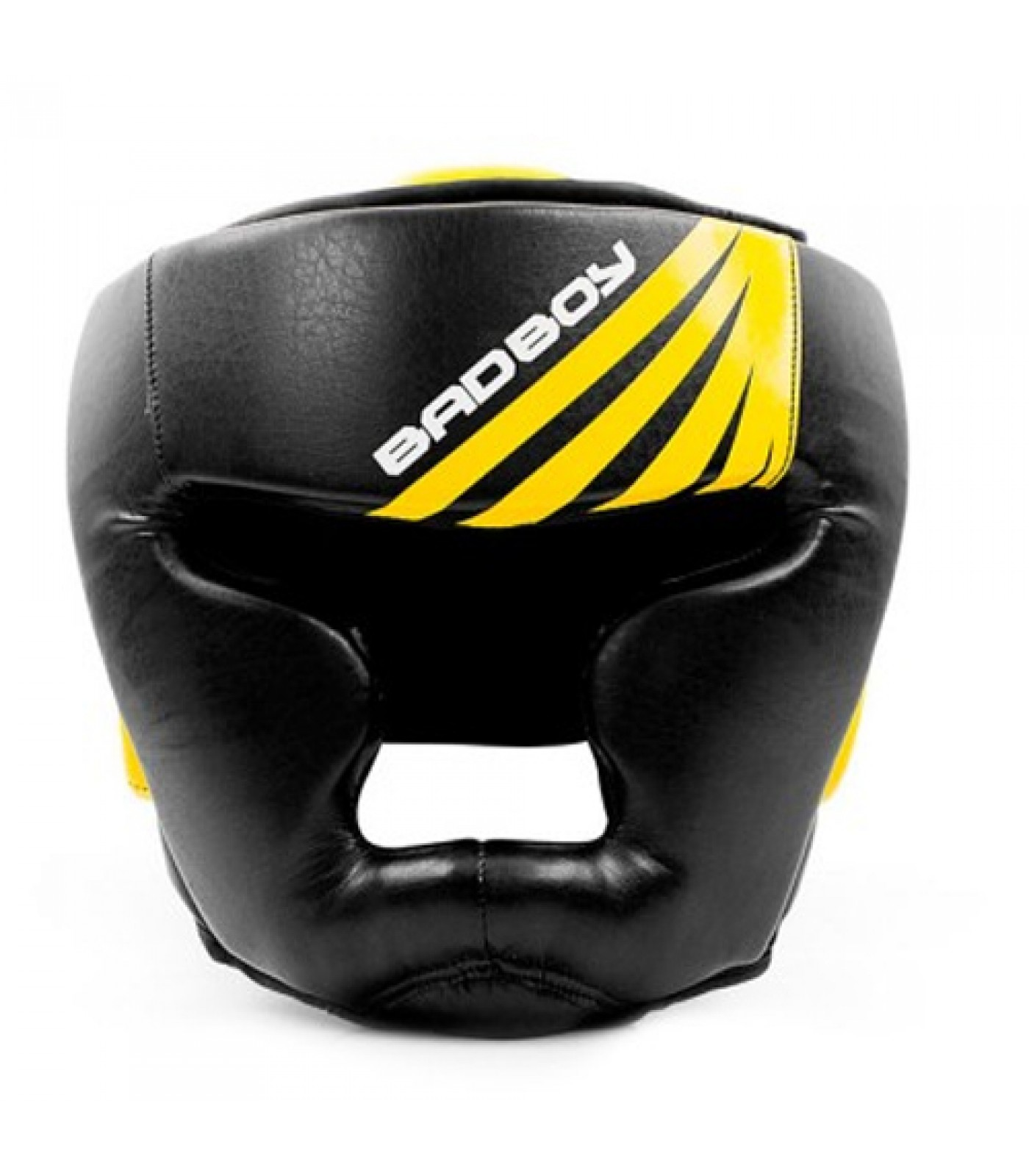 Bad Boy Training Series Impact Head Guard - Black / Yellow​