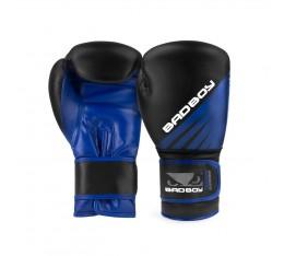 Боксови Ръкавици - Bad Boy Training Series Impact Boxing Gloves - Black/Blue  Боксови ръкавици