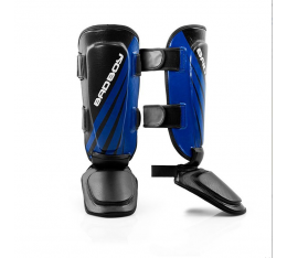 Протектори за крака - Bad Boy Training Series Impact Thai Shin Guards - Black / Blue​