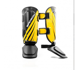 Протектори за крака - Bad Boy Training Series Impact Thai Shin Guards - Black / Yellow ​