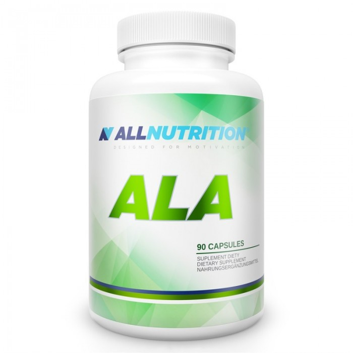Allnutrition ALA - Антиоксидант Алфа Липоева Киселина / 90caps