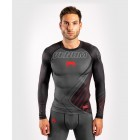 Рашгард - Venum Contender 5.0 Rashguard - Long sleeves - Black/Red​