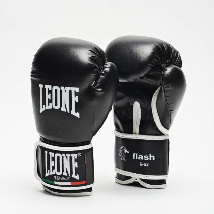 Leone - JUNIOR BOXING GLOVES FLASH GN083J / Black